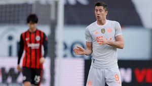 «Бавария» проиграла «Айнтрахту» в матче Бундеслиги