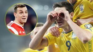 Украинский футболист объяснился засвое язвительное высказывание осборной России
