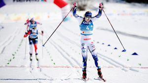 Шведская лыжница Сундлинг стала чемпионкой мира в спринте