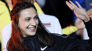 Русская прыгунья в высоту выиграла «Битву полов», установив лучший результат сезона в мире
