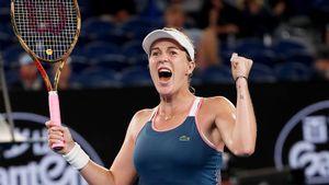 В 1/4 финала Australian Open сыграет россиянка, и это не Шарапова. Она победила американку уже ночью