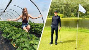 Главные увлечения Клэбо и других топовых лыжников: гольф, вейксерфинг, выращивание клубники, танцы, дизайн одежды
