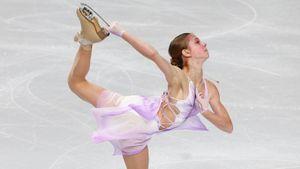 Рудковская — Трусовой: «Саша — ты боец! Знаю, какой колоссальный труд стоит за этой медалью!»