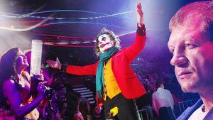 Минеев иЕмельяненко встретились уклетки, Джокер-шоу ироскошные октагон-герлз: главные фото FNG94