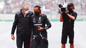 Хэмилтон закатил истерику и просто взбесился, упустив подиум на Гран-при Турции. Что произошло в Стамбуле
