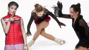 Рудковская и Гном Гномыч на трибуне, празднующая Туктамышева, разочарованная Трусова. Главные фото Гран-при России