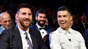 Роналду установил рекорд в Лиге чемпионов, опередив Месси