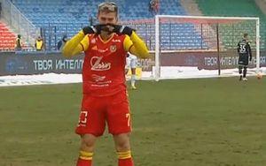 Ломовицкий показал спартаковский ромб после гола в ворота ЦСКА. «Спартак» оценил