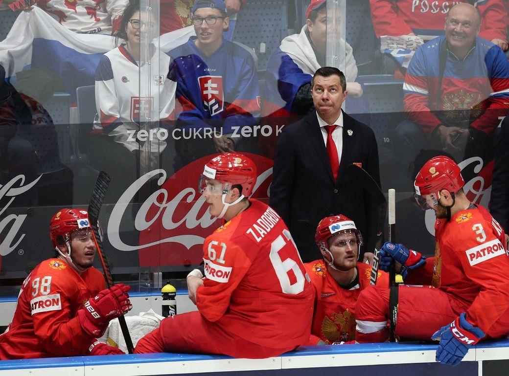 «Они вышли кусаться»: тренер сборнойРФ прокомментировал игру сФинляндией