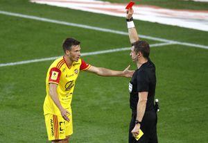 Ловчев — об удалении игрока «Арсенала» Лесового в матче со «Спартаком»: «Такое впечатление, что судья ждал момента»