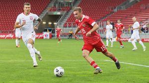 Глушенков стал звездой российской молодежки. Но сборная U21 проиграла важнейший матч в отборе к Евро