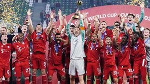 «Бавария» — 2-й клуб после «Барсы» с 6 титулами за год. Флик выиграл больше трофеев, чем проиграл матчей