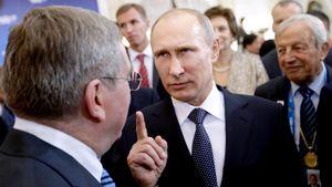 Дисквалификация русского спорта затронет и Путина. Президент России не должен появляться на ОИ в Токио и Пекине