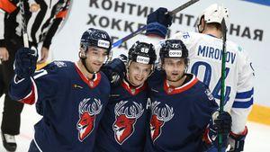«Торпедо» нанесло московскому «Динамо» 1-е поражение в сезоне КХЛ