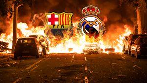 «Реал» и«Барса» отказались меняться кругами. Теперь класико перенесено на2 месяца из-за протестов