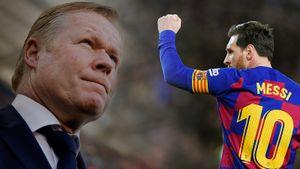 «Надеюсь, Месси останется. Не знаю, придется ли мне его уговаривать». Первые слова Кумана в «Барселоне»