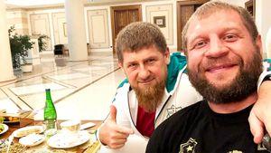 А. Емельяненко об общении с Кадыровым: «Постоянно интересуется, в какой я форме»