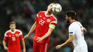 Россия — Турция — 2:0. Эффектный гол Черышева, Черчесов уверенно победил Луческу. Как это было