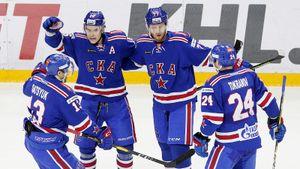 Чемпион КХЛ получил пощечину в Петербурге. СКА покуражился над одним из главных конкурентов