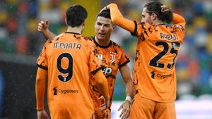Дубль Роналду в концовке матча принес «Ювентусу» волевую победу над «Удинезе» и 3-е место в Серии А