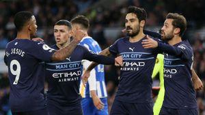 Дубль Фодена помог «Манчестер Сити» разгромить «Брайтон» в АПЛ