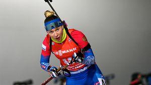 Биатлонистка Павлова отыграла 31 место в гонке преследования на Кубке мира. Такого прорыва от нее уже не ждали