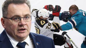 Жесткие драки в матче КХЛ! Назаров устроил бойню с «Авангардом» как 10 лет назад, когда рулил канадскими тафгаями