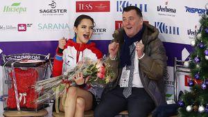 Тренер Медведевой назвал честным еевключение восновной состав сборной России начемпионат мира