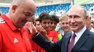 «День рождения Путина? Скромно приглашу президента наматч». Черчесов готов кбитве сШотландией