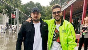 Баста, Савин и Мозгов зажгли на фестивале в Москве. Футбол, баскетбол и рэп объединились
