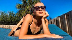 Легкоатлетка Клишина выложила фото, как загорает вкупальнике под солнцем Флориды