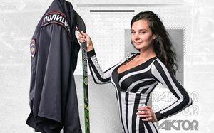 Красавица-журналистка София Гудим вернулась в «Трактор»: «Хоккей больше не будет прежним»