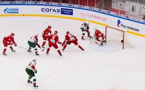 Шедевральный гол российского хоккеиста. Галиев в одиночку разобрался с пятеркой соперников
