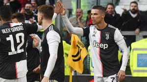 Роналду по-королевски начал 2020-й. Первый в Серии А хет-трик и ассист в стартовом матче года