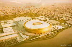Посмотрите, как сейчас выглядит стадион финала ЧМ-2022 в Катаре. Вместит больше, чем «Лужники»