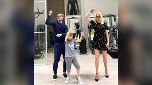 «Оказалось весьма непросто». Плющенко, Рудковская и Гном Гномыч исполнили танец с очками: видео