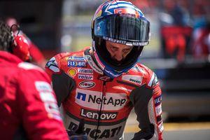 Известный итальянский мотогонщик потерял память после аварии на Гран-при Великобритании