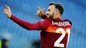 Дубль Майораля принес «Роме» победу над «Шахтером» в ответном матче 1/8 финала Лиги Европы