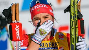 Непряеву вырубило назаключительной гонке финского тура. Она потеряла кучу мест иеле финишировала