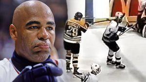 «Телохранителя» Овечкина били клюшкой в лицо, темнокожие намекали на заговор. Расистский скандал в НХЛ в 2000-м