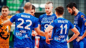 «Кузбасс» всухую уступил «Верве» и покинул зону плей-офф. Русский итальянец Зайцев реализовал лишь 33% атак