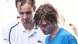 Матч лучших теннисистов России прошел без борьбы. Медведев уничтожил Рублева и теперь мечтает о финале с Карацевым