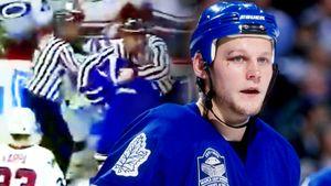 Разбил лицо боксерским ударом. Русский хоккеист Марков расправился с легендой НХЛ при помощи приема Поветкина