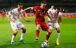 Бельгия забила 8 безответных мячей Белоруссии, Чехия в гостях проиграла Уэльсу в квалификации ЧМ-2022