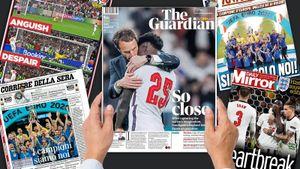 «Годы страданий Англии продолжаются». Что пишут иностранные СМИ: британцы скорбят, итальянцы празднуют