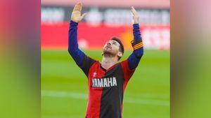 Месси почтил память Марадоны, отпраздновав гол в футболке «Ньюэллс Олд Бойз» с 10-м номером