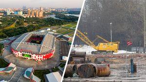 Что было на месте стадионов ЧМ-2018 в России 10 лет назад: фото
