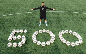 Суарес придумал красивую благотворительную акцию в честь 500-го гола в карьере