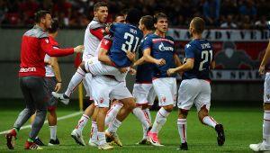 «Црвена Звезда» победила «Копенгаген» в серии пенальти из 22 ударов. Били даже вратари: видео
