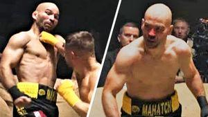 Русский друг Конора приехал в Украину драться на голых кулаках. После боя Лобов завершил карьеру и попал в больницу